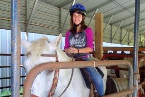 buc horseback